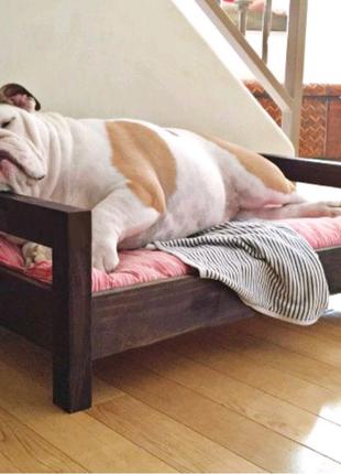 Лежанка лежак кровать для собак