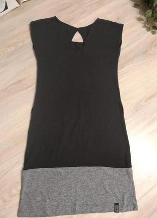 Крутое трикотажное платье мини туника