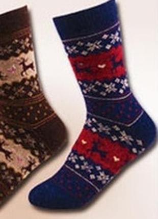 7-36 різдвяні шкарпетки з оленями рождественские новогодние но...
