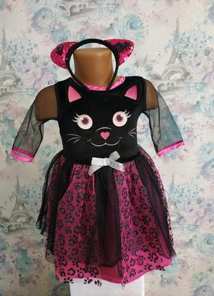 Платье кошечки кошка карнавальный костюм котик киця