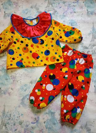 Карнавальный костюм клоуна ) клоун шут петрушка