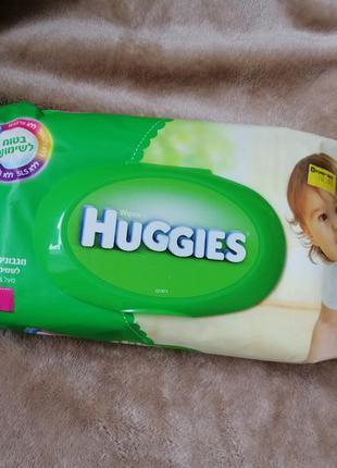 Влажные салфетки huggies