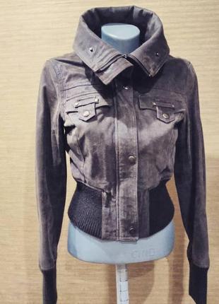 Куртка со съёмным мехом
