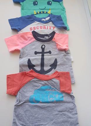 Брендовые футболки для малышей