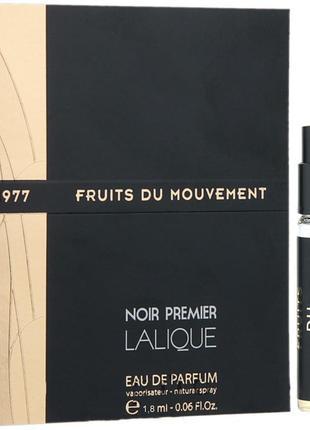 Lalique Fruits du Mouvement 1977_Оригинал EDP_3 мл затест