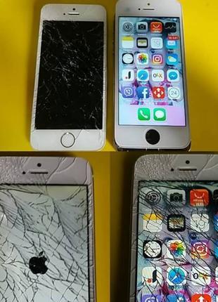 Ремонт iPhone 4, 4S, 5, 5S, 5C, SE в Броварах.