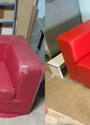 Перетяжка и ремонт мебели, ремонт стульев, диванов, кроватей