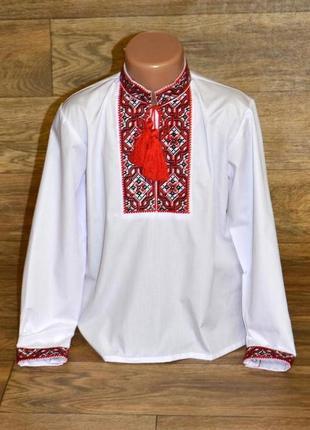 Вишиванка вышиванка сорочка с вышивкой 11лет