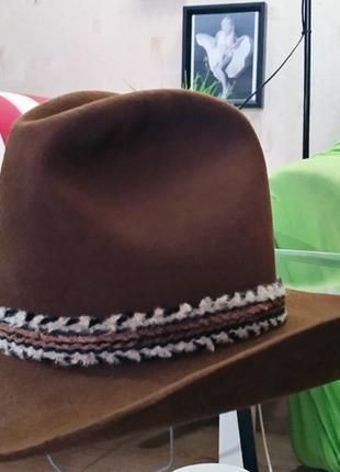 Ковбойская шляпа STETSON 4Х BEAVER р.7 Original