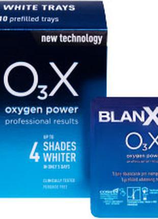 Отбеливающие полоски Blanx O3X 10 шт