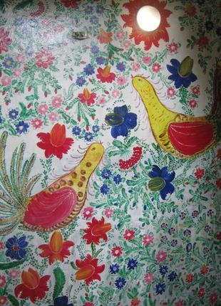 Роспись сувенирной продукции, мебели и стен в пространстве дом...