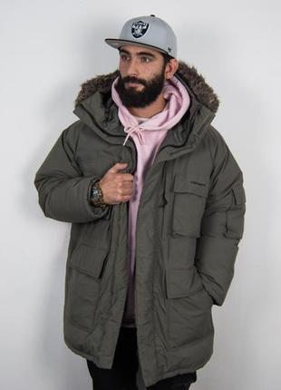 Парка - пуховик carhartt зимняя