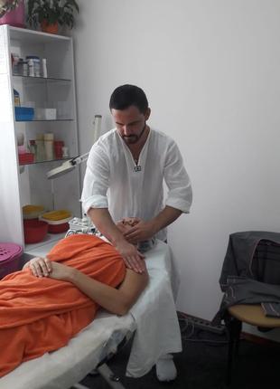 Испанский массаж лица