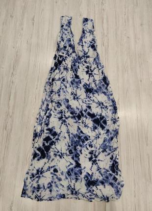 Ликвидация товара 🔥  бело синее платье макси на лето  море пляж