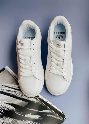 Кроссовки adidas stan smith all white