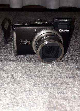 Фотоаппарат Canon PowerShot SX200 IS Black +чехол в подарок