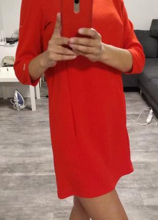 Платье красное размер 36/38 в идеальном состоянии Mochito