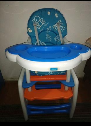 Столик-стульчик для кормления 3в1