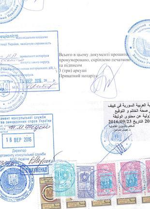Срочная консульская легализация диплома, несудимости