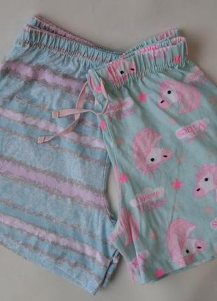 Пижама набор пижамные шорты 9-10 л, 140 см primark англия