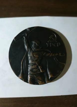 Настольная медаль