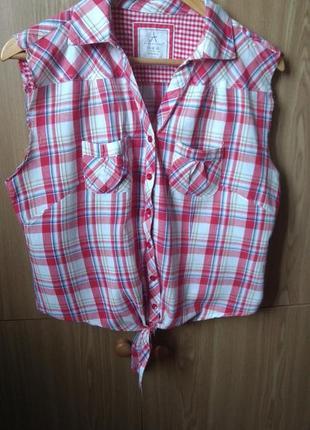 Акция 1+1=3!!! стильная рубашка с завязками