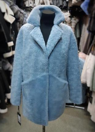 Пальто натуральный мех