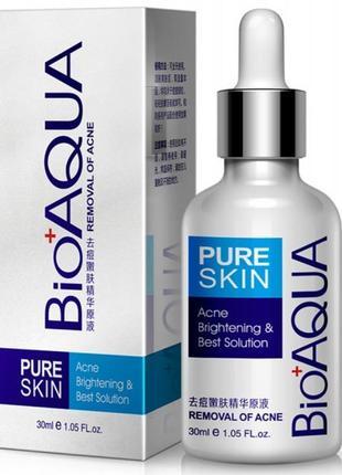Сыворотка от акне bioaqua pure skin, для проблемной кожи 30мл