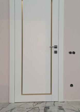 Новые Двери Rodos - Porto 2 (2шт) в полном комплекте. ТОРГ