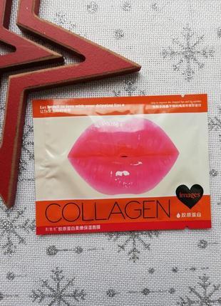 Патч для губ коллагеновая с экстрактом вишни image beauty coll...