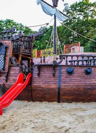 """Детский игровой комплекс корабль """"пират"""""""