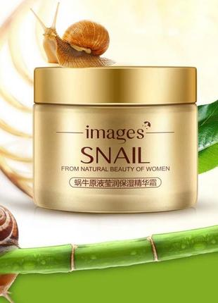 Cкраб для лица с муцином улитки images snail from natural beau...