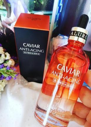 Сыворотка антивозрастная venzen caviar anti-aging, с экстракто...