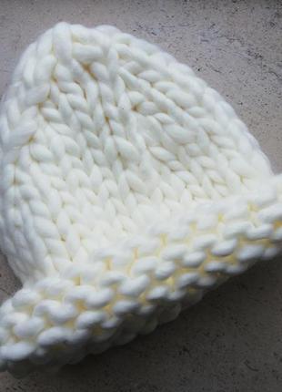 Шапка хельсинки - вязаная шапка средней вязки