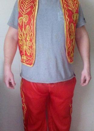 Карнавальный костюм мужской национальный турецкий м-л