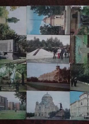 Комплект листівок Кронштадт
