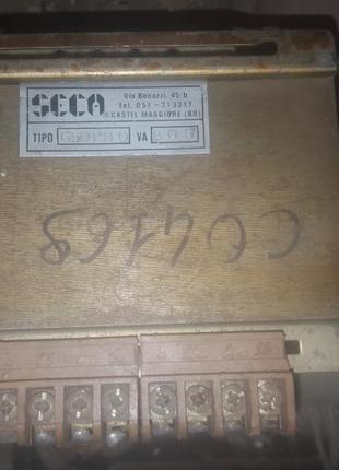 Потужний трансформатор 380-220, 24-12-5v 800va