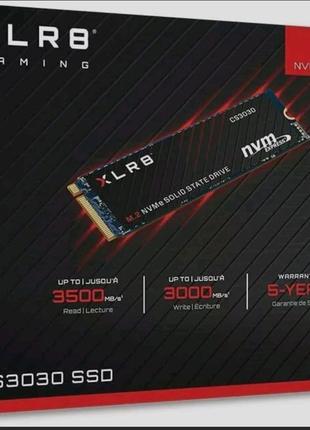 Быстрый Ssd nvme PNY CS3030 1TB новый chia