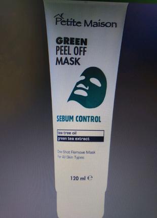 Нормалізуючи маска-плівка для обличчя Petite Maison