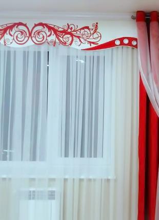 Индивидуальный дизайн и пошив штор, тюлей, ламбрекенов, покрыв...