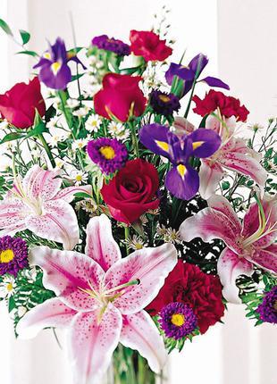 Доставлю цветы для прекрасной девушки в лучшем виде и с прекра...