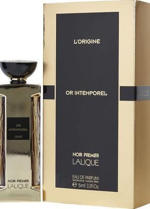 Lalique Or Intemporel 1888_Оригинал EDP_5 мл затест_Распив