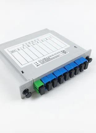 Делитель PLC 1/8 в кассете