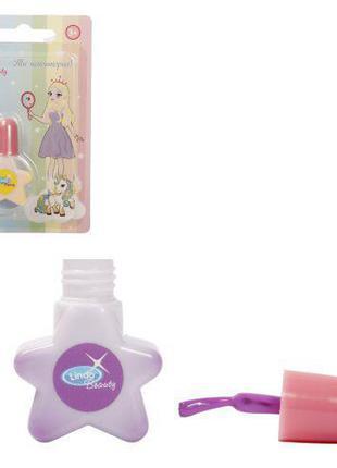 Лак для ногтей на водной основе, фиолетовый 886