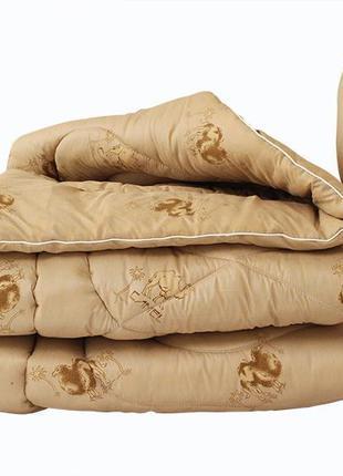 Одеяло лебяжий пух Camel евро + 2 подушки 70х70
