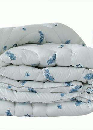 Одеяло лебяжий пух Перо евро + 2 подушки 50х70