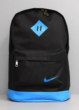 Модний чорний рюкзак