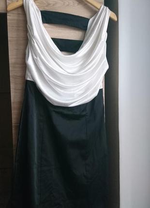 Суперское чёрно-белое платье 1+1=3