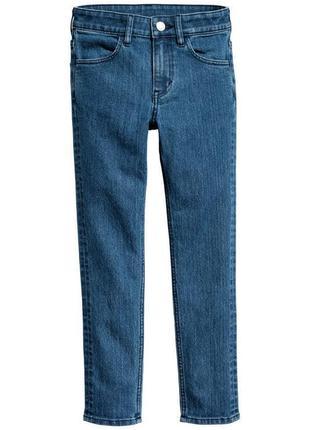 Стильные джинсы skinny fit  h&m на рост 164 см