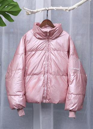 Зимняя укороченная куртка
